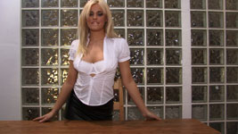 Amy Green Topless and Nude Secretary Hi-Def 720p Video