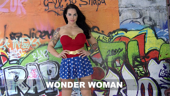 Maxie Rhoads Wonder Woman Video